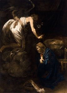 430px-Annunciation-Caravaggio