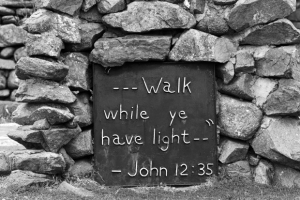 walk while ye have light