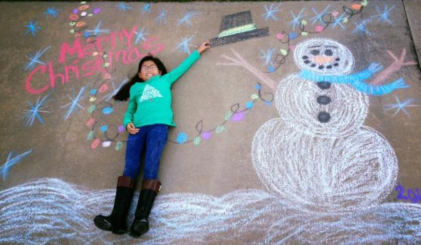 Ally chalk drawing